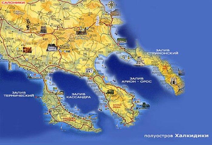 отдых в греции, халкидики, туры в грецию